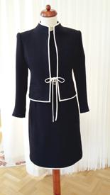 Maßgeschneidertes Kleid mit Weste / Vera Grünwald, Karlsruhe